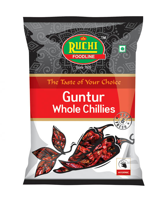 Guntur Whole Chillies