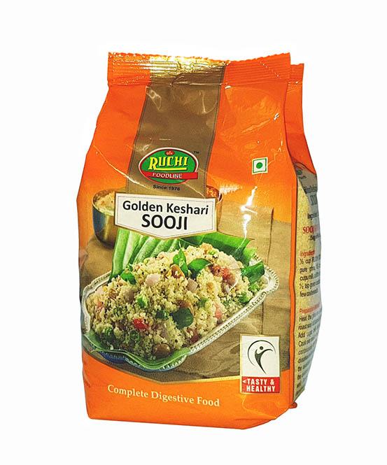 RUCHI Golden Keshari Sooji | RUCHI Foodline